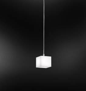 ENIGMA sospensione 16x16 cromo | LED