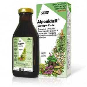 ALPENKRAFT sciroppo d'erbe fluidifica le secrezioni bronchiali