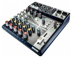 MIXER NOTEPAD-8FX USB SOUNDCRAFT EFFETTI