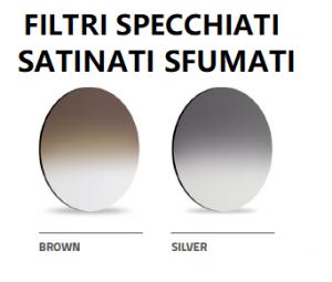 McYou Mod. Mirit + filtro sole specchiato satinato sfumato
