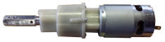 24V gearmotor with coupling (until April 2015)