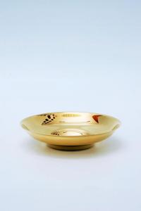 Pisside patena in metallo dorato FEL2417