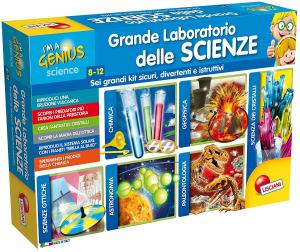 LISCIANI GIOCHI I'M A GENIUS IL LABORATORIO DELLE SCIENZE 62393