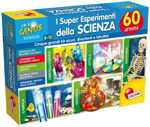 LISCIANI GIOCHI I'M A GENIUS I SUPER ESPERIMENTI DELLA SCIENZA 60337