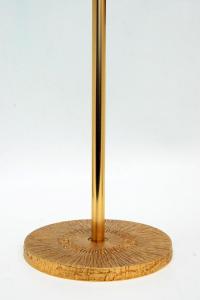 Croce astile in bronzo dorato GALF292D