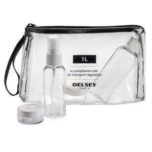 Delsey - Pochette trasparente per liquidi e gel 1 L cod. 3940630