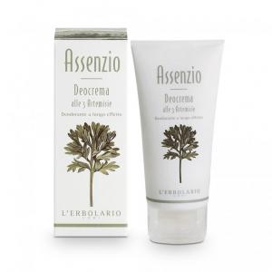 Assenzio Deocrema 50 ml Deodorante alle tre Artemisie a lungo effetto L'Erbolario