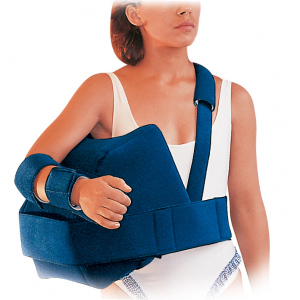 Eureverse shoulder brace for shoulder abduction