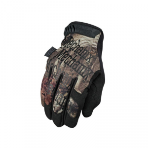 MECHANIX MOSSY OAK ORIGINAL Work Gloves - Black