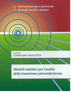 7 - Modelli statistici per l´analisi della transizione università-lavoro