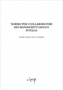 Norme per i collaboratori dei manoscritti datati d'Italia