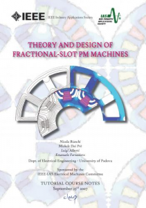 Theory and Design of Fractional-Slot PM Machines