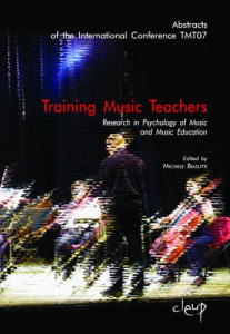 Training Music Teachers