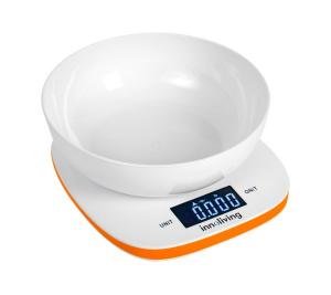 Bilancia digitale da cucina con ciotola