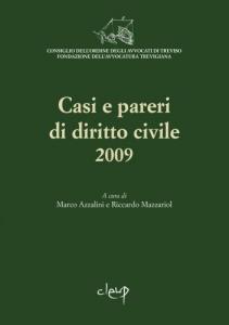 Casi e pareri di diritto civile 2009