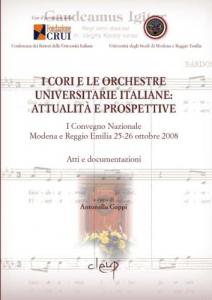 I Cori e le Orchestre Universitarie italiane: attualità e prospettive