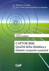 Captor 2000: Qualità della didattica e sistemi computer-assisted (n.4)