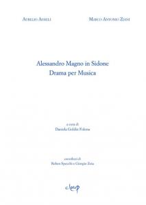 Alessandro Magno in Sidone. Drama per Musica