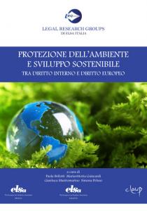 Protezione dell'ambiente e sviluppo sostenibile