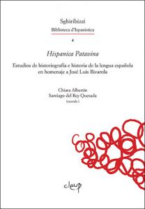 Estudios de historiografía e historia de la lengua española en homenaje a José Luis Rivarola