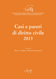 Casi e pareri di diritto civile 2015