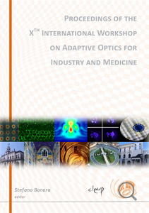 Proceedings of the X.th international workshop on adaptive optics for industry and medicine