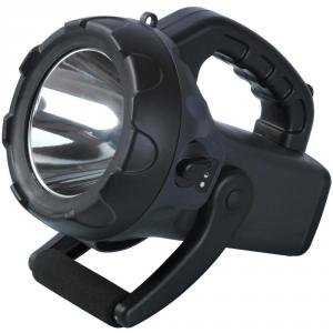 Torcia LED professionale 10 W alta potenza con batteria ricaricabile