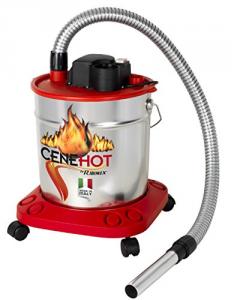 Aspiracenere elettrico maggior protezione ceneri calde