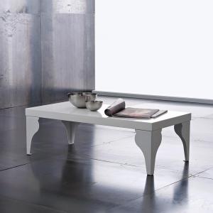 Tavolino Miami Bianco Lucido