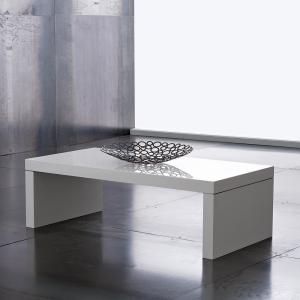 Tavolino Detroit Bianco Lucido