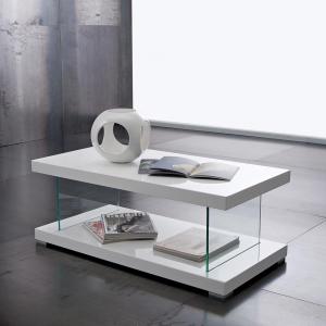 Tavolino Washington Bianco Lucido