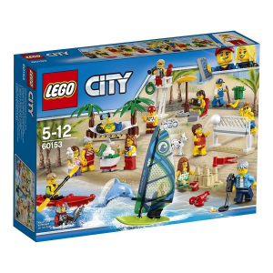 LEGO CITY DIVERTIMENTO IN SPIAGGIA 60153