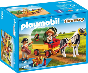 PLAYMOBIL PIC-NIC CON CALESSE 6948