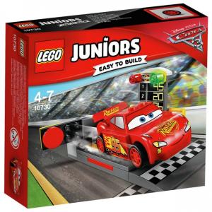 LEGO JUNIORS CARS RAMPA DI LANCIO DI SAETTA MCQUEEN 10730