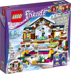 LEGO FRIENDS LA PISTA DI PATTINAGGIO DEL VILLAGGIO INVERNALE 41322