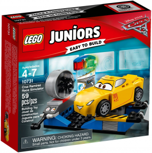 LEGO JUNIORS CARS IL SIMULATORE DI CRUZ RAMIREZ 10731