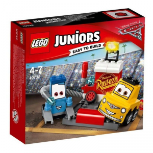 LEGO JUNIORS CARS IL PIT STOP DI GUIDO E LUIGI 10732