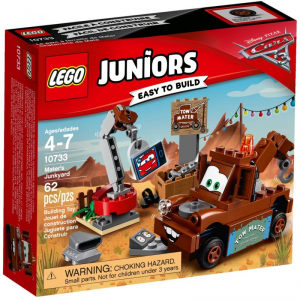 LEGO JUNIORS CARS LA DISCARICA DI CRICCHETTO 10733