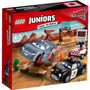 LEGO JUNIORS CARS TEST DI VELOCITA' A PICCO WILLY 10742