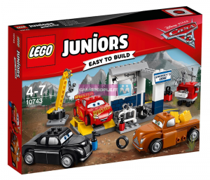 LEGO JUNIORS CARS IL GARAGE DI SMOKEY 10743