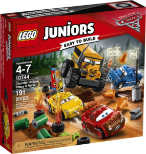 LEGO JUNIORS CARS THUNDER HOLLOW CRAZY 8 RACE 10744