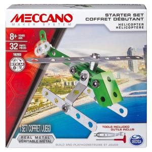 MECCANO MAKER SYSTEM ELICOTTERO VERDE 16203