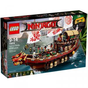 LEGO NINJAGO VASCELLO DEL DESTINO 70618