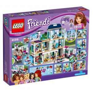 LEGO FRIENDS L'OSPEDALE DI HEARTLAKE 41318
