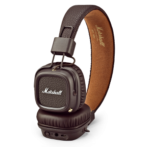 Marshall Major II bluetooth BROWN - cuffie wireless senza fili