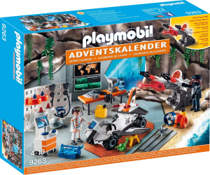 PLAYMOBIL CALENDARIO DELL'AVVENTO TOP AGENTS 9263