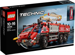 LEGO TECHNIC VEICOLO DI SOCCORSO AEROPORTUALE 42068