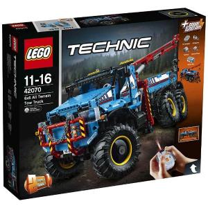 LEGO TECHNIC CAMION AUTOGRU' 6 X 6 42070