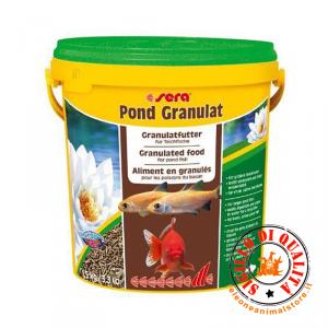 Mangime per Pesci Pond Granulat Sera 10 lt.