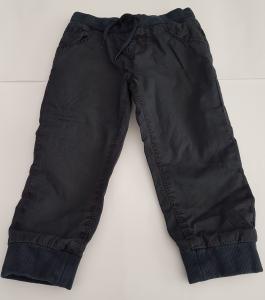 Pantalone blu con elastico